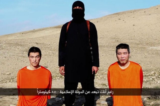 otages japonais