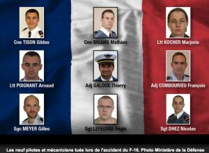 neuf morts français indignes des media de masse