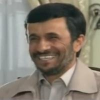 président Ahmadinejad, Téhéran, 2007