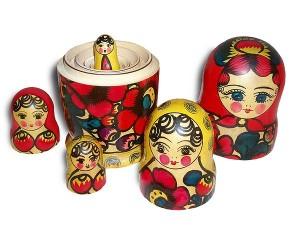 poupées russes (matriochkas)