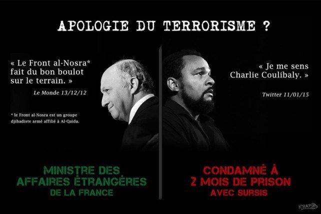 Fabius Dieudonné terrorisme