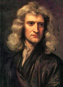Isaac Newton en 1689