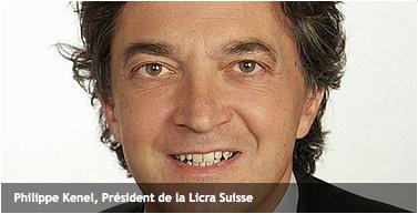 Philippe Kenel LICRA Suisse