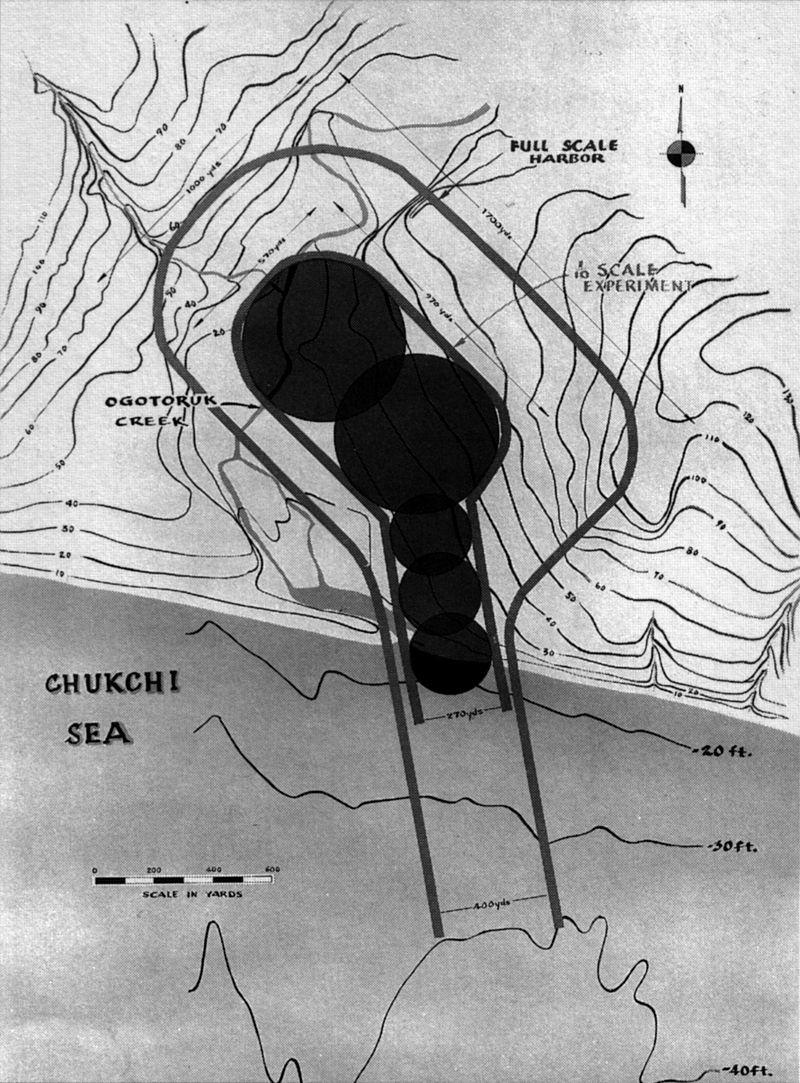 Une des propositions pour le projet Chariot en Alaska.