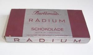chocolat au radium