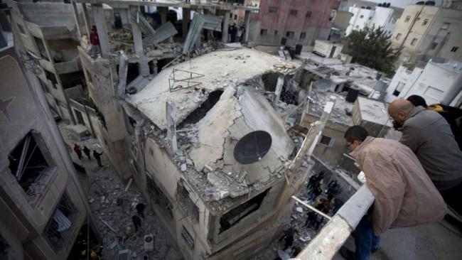 maison qui a été démolie par l'armée israélienne