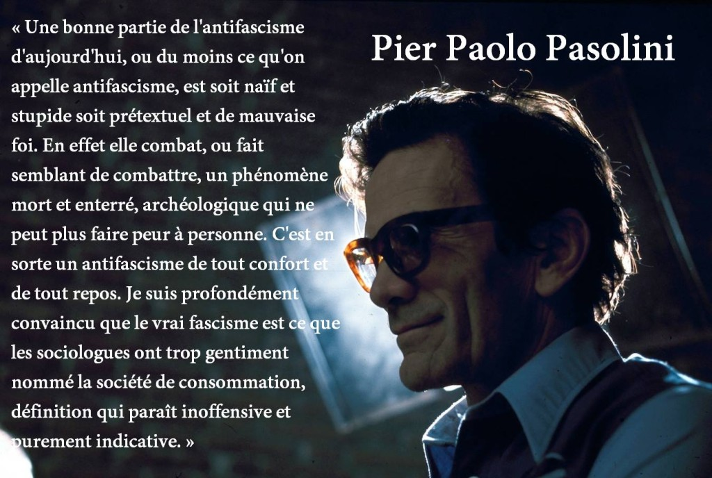 Pasolini antifascisme