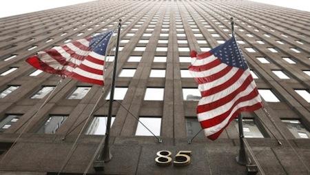 Façade de l'immeuble de Goldman Sachs