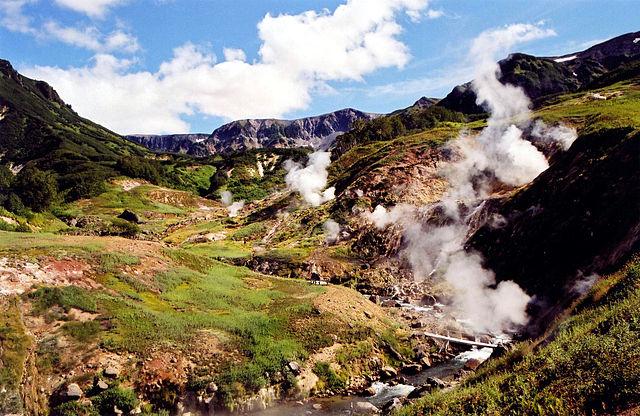Vallée des geysers, Kamtchatka : ni fumée, ni feu, mais de la chaleur et de l'eau