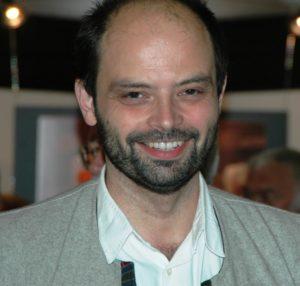 Slobodan Despot au salon du livre à Genève en 2006