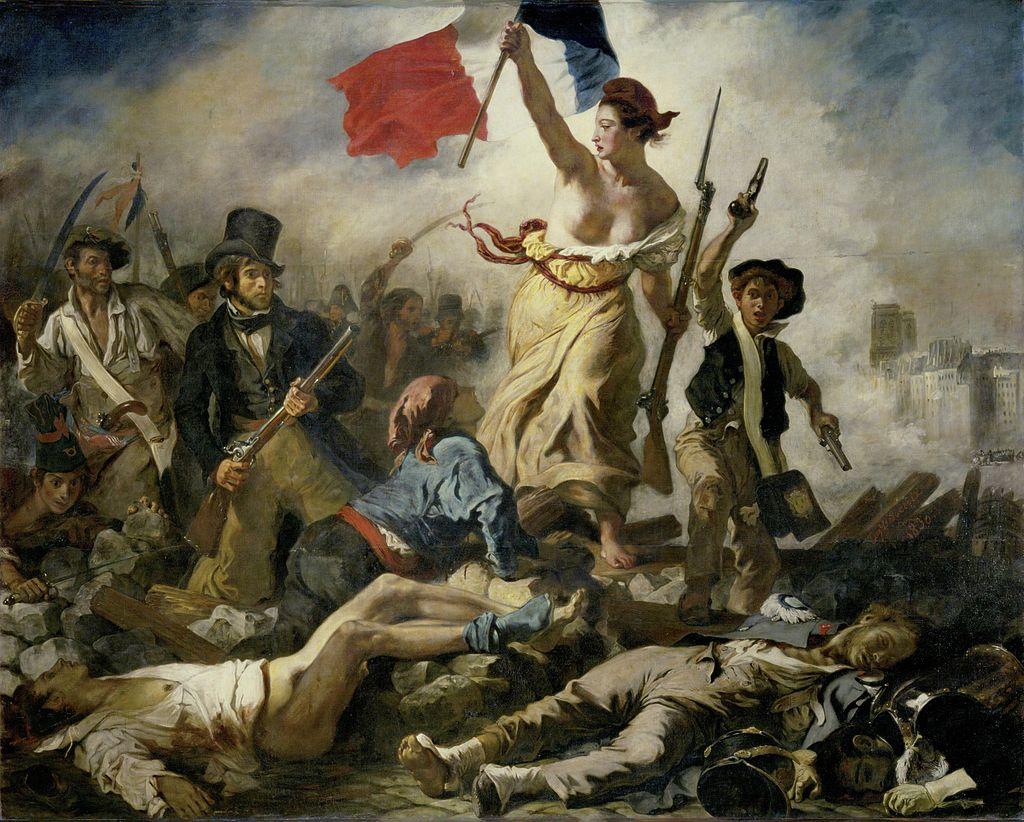 La Liberté guidant le peuple (Eugène Delacroix, 1830)