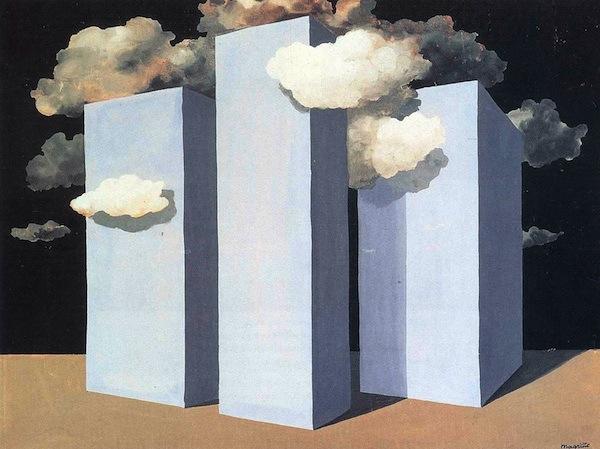 """René Magritte, """"Orage un"""" (1932)"""
