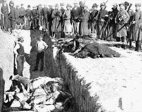 Massacre de Sand Creek, 29 novembre 1864