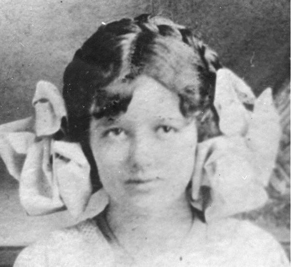 Mary Phagan, la fille de 13 ans violée et assassinée par Leo Frank, dont l'héroïsation <br>est l'acte fondateur de l'ADL.