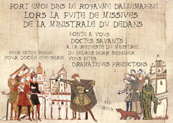 La Geste Covide ou Tapestrie de Greux de Yul Caravage.